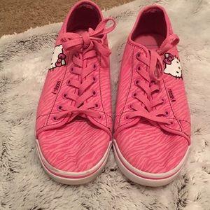 👟Vans Hello Kitty Pink Zebra Sneakers 👟